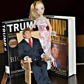 Trump - The Interactive Action Figure by Leise Wease  Photography - Artistic Objects Toys ( president, parody, rich, funny, candidate, weird, trump )