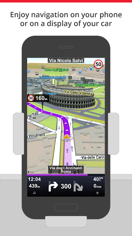 Sygic Car Navigation Screenshot 0