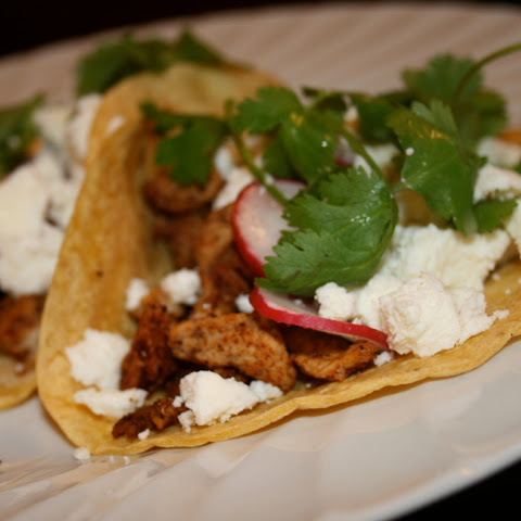 California Style Chicken Street Tacos