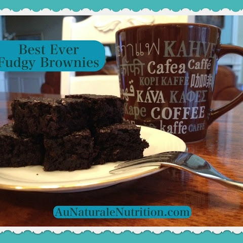 Best Ever Fudgy Brownies
