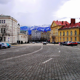 by Ljiljana Pejcic - City,  Street & Park  Street Scenes