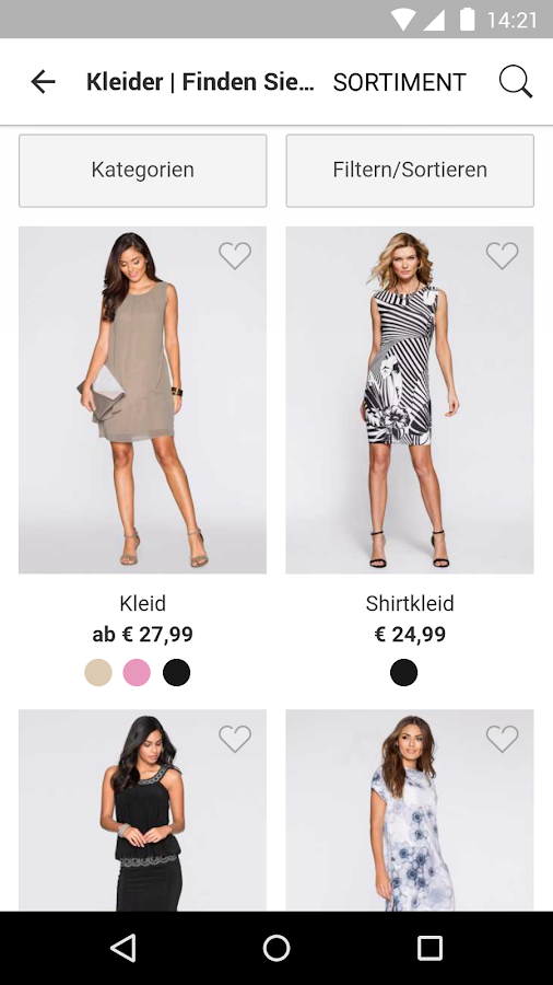 bonprix – Mode online shoppen Screenshot 3