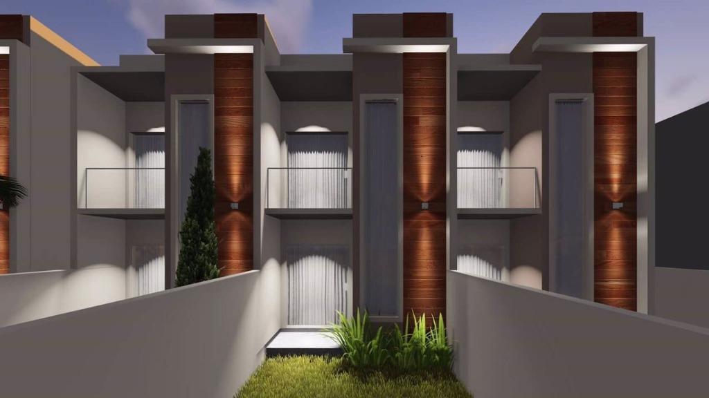 Sobrado com 2 dormitórios à venda, 68 m² por R$ 170.000,00 - Areias - Tijucas/SC
