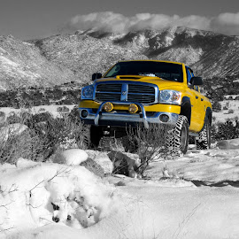 4x4 Dodge Ram by Shawn Thomas - Transportation Automobiles ( mountains, dodge ram, truck, snow, off-road,  )
