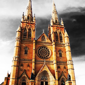 St Marys Cathedral by Tiahn Anneliese - Buildings & Architecture Public & Historical
