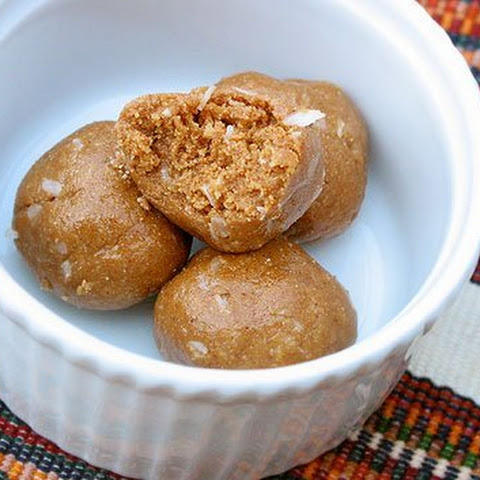 Milk and Honey Peanut Butter Balls