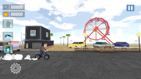 Gun Bike Free Arcade Runner - screenshot
