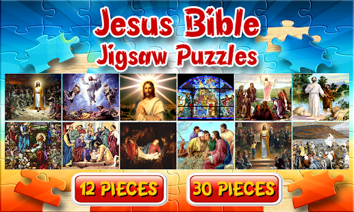 Jesus Bible Jigsaw Puzzle Game - screenshot