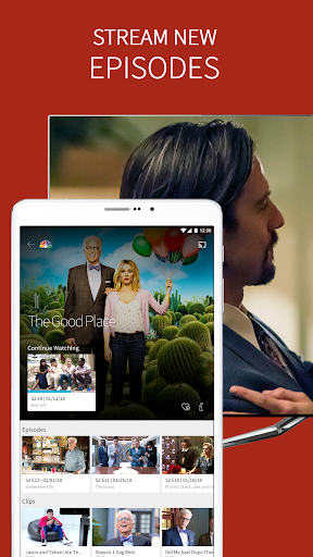 The NBC App - Watch Live TV and Full Episodes screenshot 1