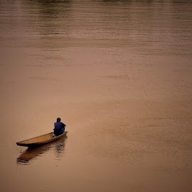 The Mekong River, Lao by Leana Niemand - Landscapes Travel