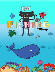Magnetic cat fishing game apk 1 0 0 free simulation for Cat fishing game