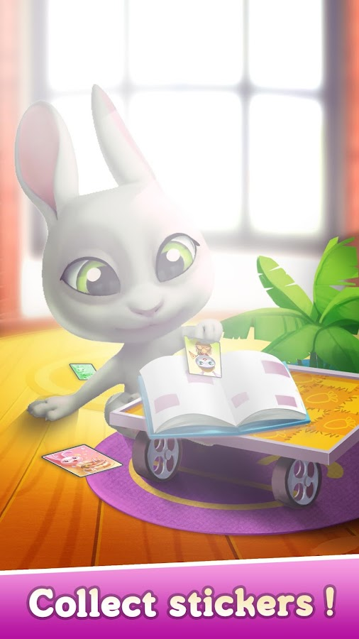 Bu the Baby Bunny - Cute pet care game  poster