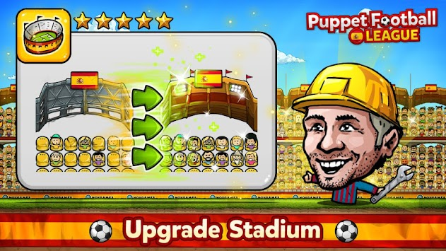 Puppet Football Spain CCG/TCG APK screenshot thumbnail 16