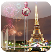 Paris Zipper Lock Screen APK for Bluestacks