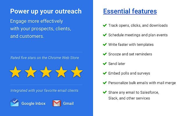 Mixmax: Email Tracking, Templates, Mail Merge Screenshot