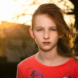 Olivia at Sunset by Lawayne Kimbro - Babies & Children Children Candids ( ©lawayne kimbro photography, ©kimbrophoto, ©kimbro photography,  )