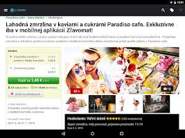Screenshot of Zľavomat
