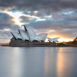 Sydney Opera  by Angela Taya - Novices Only Objects & Still Life