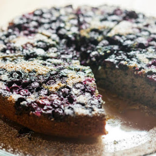 Blue Cornmeal Cake Recipes