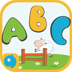 English Alphabet recognition & Phonics learning for Kindergarten & preschoolers. APK Icon