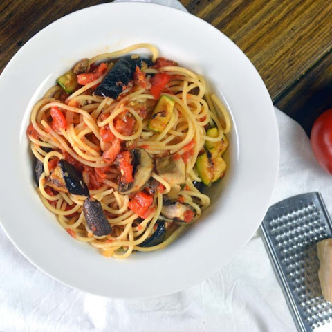 Spaghetti with Ratatouille