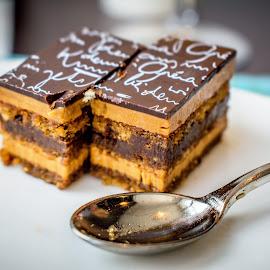 The Deserts Of Paris by T Sco - Food & Drink Candy & Dessert ( utensil, taste, eating, good, food, drink, yum, paris, crumb, spoon, france, eat, edible, tasty, desert, sweet,  )