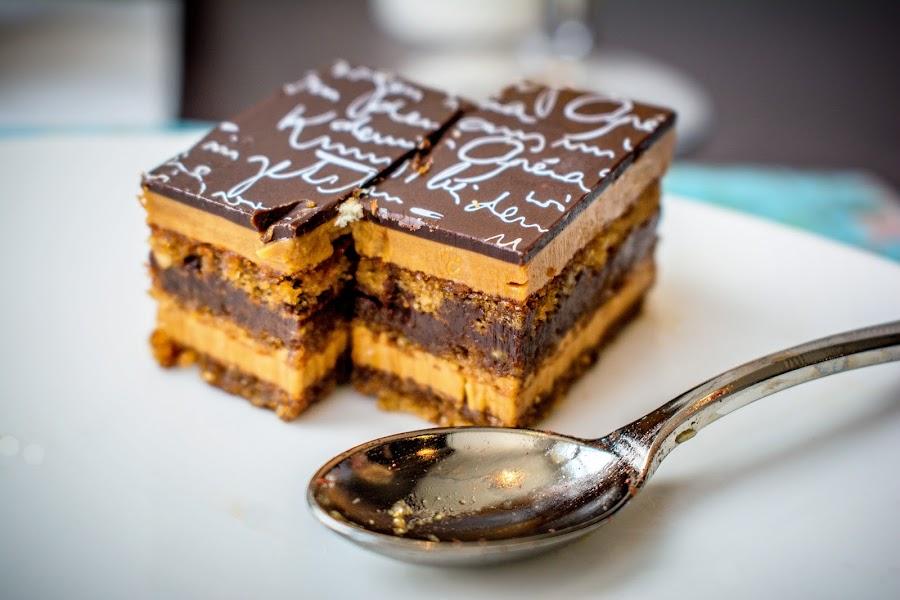 The Deserts Of Paris by T Sco - Food & Drink Candy & Dessert ( utensil, taste, eating, good, food, drink, yum, paris, crumb, spoon, france, eat, edible, tasty, desert, sweet )