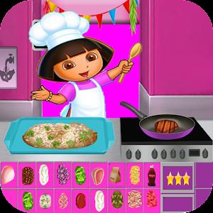 Dora Cooking Dinner For PC (Windows & MAC)