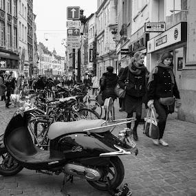 Bikes by Mike Tricker - People Street & Candids (  )