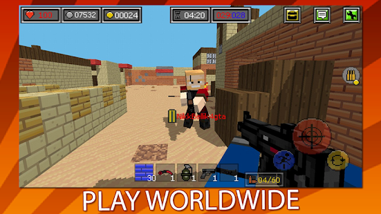 Combat Blocks Survival Online for pc