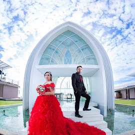prewedding susan spa & resort by Caramelz Pict - Wedding Bride ( prewed, prewedding, wedding, couple, arsitecture )