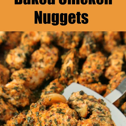 Baked Chicken Nuggets (Chicken Scampi)