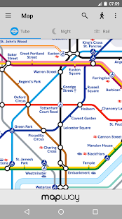 Tube Map - TfL London Underground route planner - Android Apps on ...