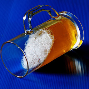 non-spill beer by Lolit Cabilis - Artistic Objects Other Objects ( illusion )