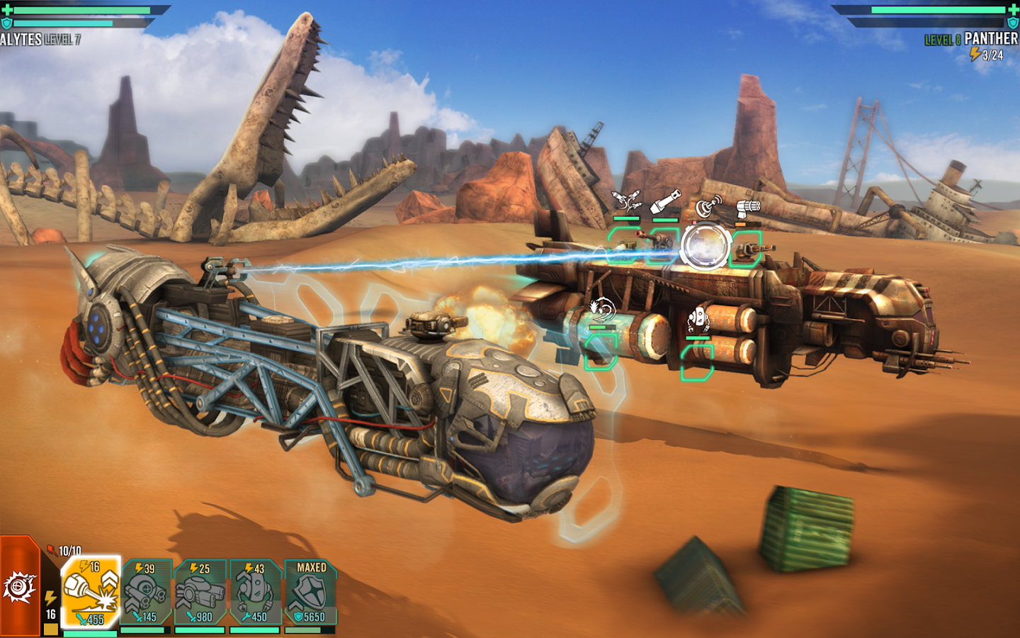 Sandstorm: Pirate Wars Screenshot 12