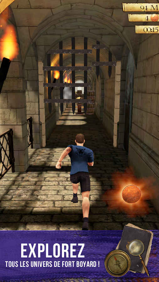 Fort Boyard Run Screenshot 0