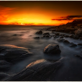 Late night by Jan Egil Sandstad - Landscapes Sunsets & Sunrises ( sommer 2014 )