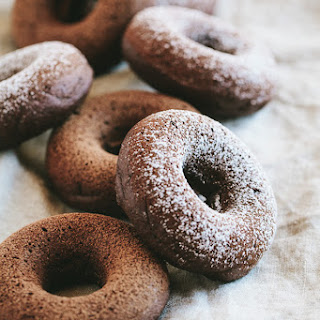 Chocolate Donuts with Amaretto