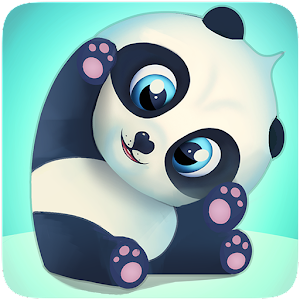 Pu - Cute giant panda bear, baby pet care game Icon