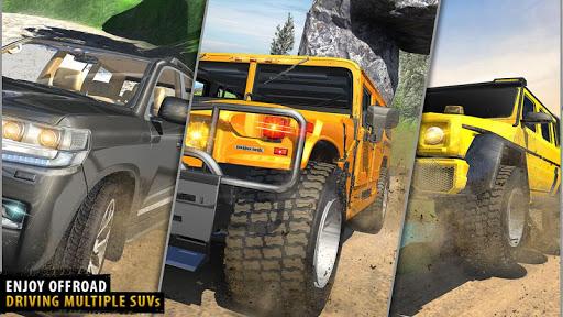 Offroad Jeep Driving Simulator - Jeep Simulator screenshot 9