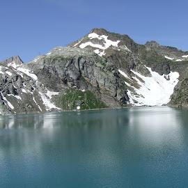 by Serguei Ouklonski - Landscapes Mountains & Hills ( water, mountain )
