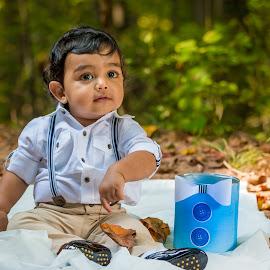 Mr Gentleman  by Rananjay Kumar - Babies & Children Child Portraits ( #portrait, #nature, #outdoor, #cute, #boy, #canon )