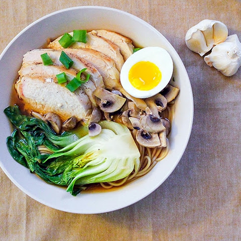 Easy Homemade Chicken Ramen