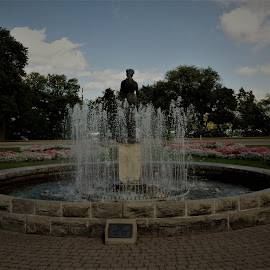by Denise O'Hern - City,  Street & Park  Fountains