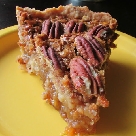 3/4 Old Fashioned Honey Maple Pecan Pie
