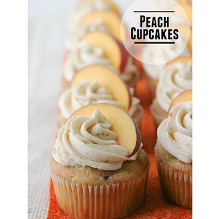 Peach Cupcakes Recipes