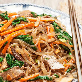 Jap Chae (Korean Stir Fry Noodles - GF)