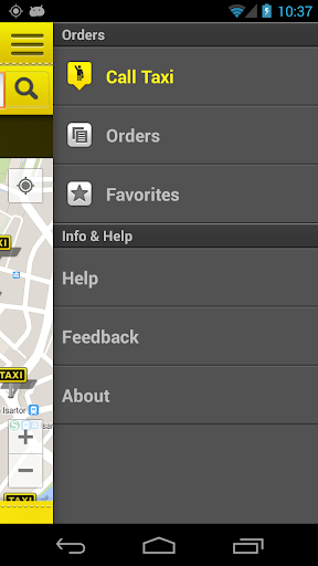 cab4me taxi finder screenshot 4