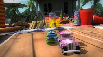 Screenshot of Table Top Racing Premium