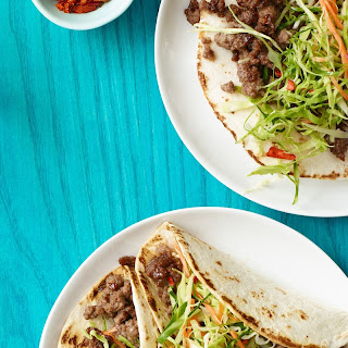 Korean Tacos with Asian Slaw